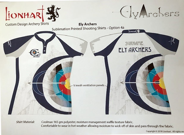 Ely Archers Club Shirt