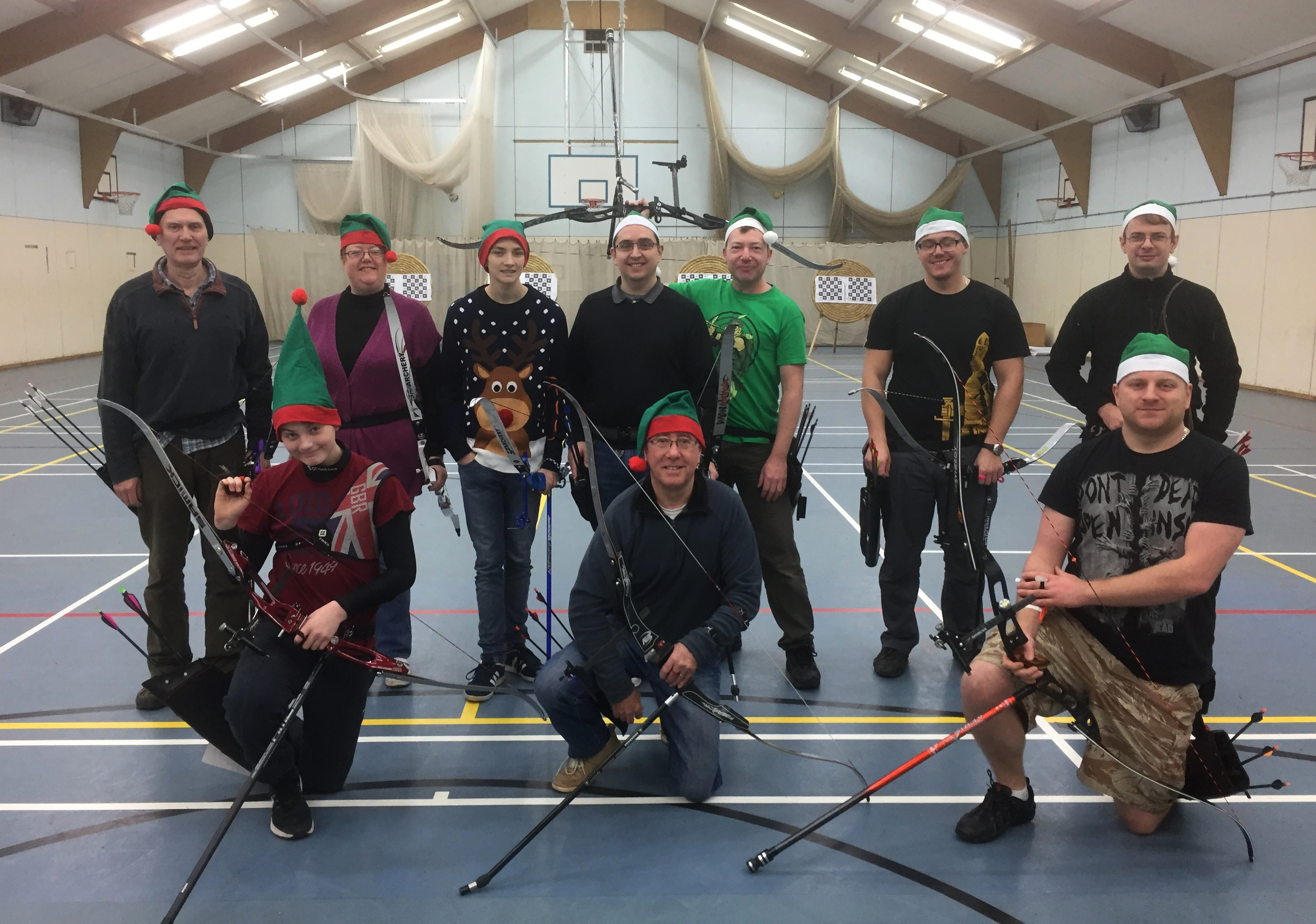 Christmas Shoot 2016 | Ely Archers